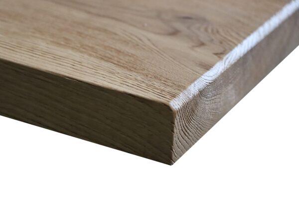 Tischplatte Gebürstet Eiche Wildeiche