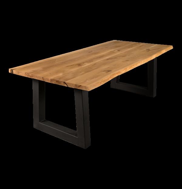 Tisch Wildeiche Esstisch Baumtisch Baumkante