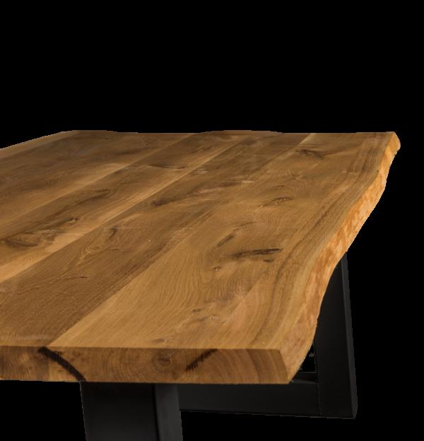 Tisch Wildeiche Esstisch Baumtisch
