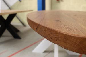 Alteiche Esstisch Konferenztisch Altholz 240x90cm