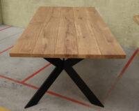 Tisch Massivholztisch Eiche Wildeiche 220x100cm