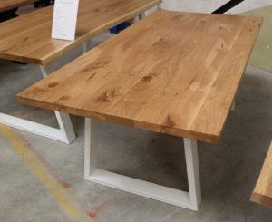 Tisch aus Wildeiche Esstisch Konferenztisch 200x100cm