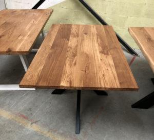 Tisch aus Wildeiche 3cm Esstisch 160x90cm