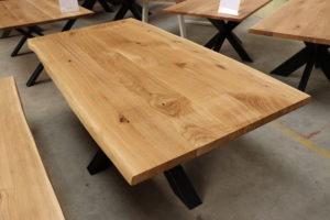 Tisch mit Baumkante Esstisch 200x100cm