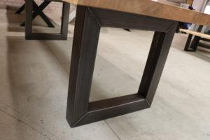 Tisch mit Baumkante Esstisch 300x100cm