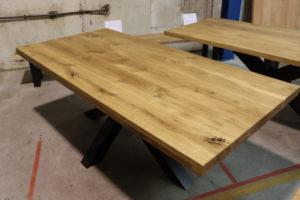 Tisch aus Wildeiche Massivholztisch 200x95cm