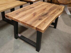 Tisch aus Alteiche kleiner Esstisch 160x90cm