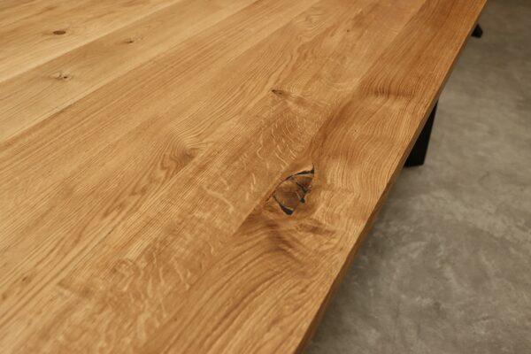Tisch aus Wildeiche Esstisch 200x100cm