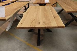 Tisch mit Baumkante Esstisch 180x90cm