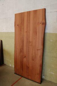 Tischplatte aus Kirsche mit Baumkante 200x100cm