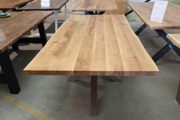 Tisch aus Wildeiche Esstisch in 220x100cm