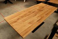 Tisch mit Baumkante Baumtisch 240x100cm