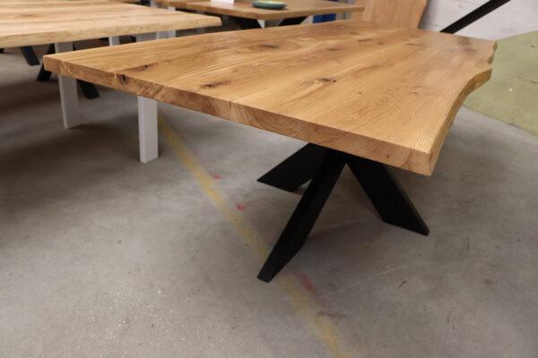 Tisch mit Baumkante Esstisch in 240x100cm