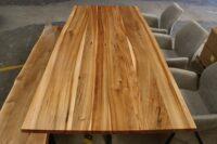 Esstisch Rüster mit Baumkante in 220x100cm