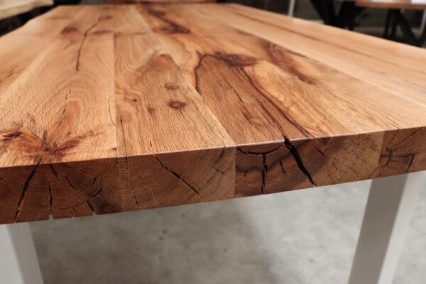 Alteiche Tisch 5 cm - 180x90cm U-Twist