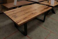 Alteiche Tisch 5cm - 200x100cm U-Modell