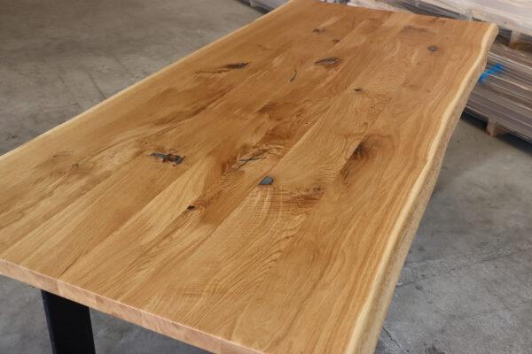 Eiche Rustikal Tisch 4cm Epoxy - 230x100cm