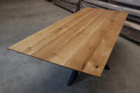 Tisch mit Schweizer Kante 240x100cm