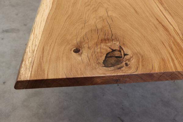 Tisch mit Baumkante 300x100cm