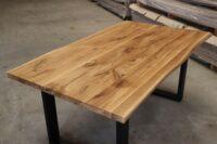Eiche Rustikal Tisch 4cm - 180x100cm U-Modell